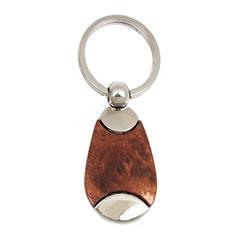 Kovinski obesek za ključe, ovalni
