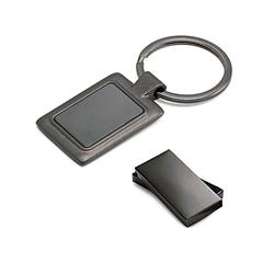 Obesek za ključe Gun metal, črna kovina