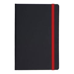 Beležnica Flux Edge, A5, rdeča, 96 listov