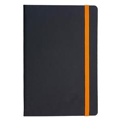 Beležnica Flux Edge, A5, oranžna, 96 listov