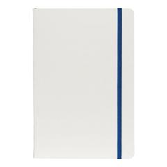 Beležnica Flux White, A5, modra, 96 listov