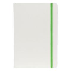 Beležnica Flux White, A5, zelena, 96 listov