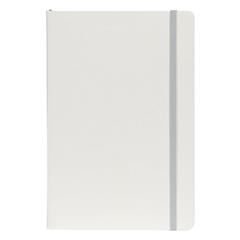 Beležnica Flux White, A5, siva, 96 listov
