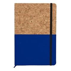 Beležnica Cork, A5, modra, 96 listov
