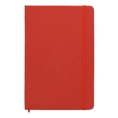 Beležnica Spectrum, A5, 96 listov, črte, rdeča