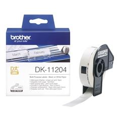 Etikete Brother DK-11204, večnamenske, 17 mm x 54 mm, original