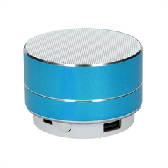 Zvočnik Metal Lux, Bluetooth, moder