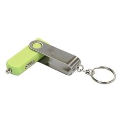 Polnilec za avto USB Twister, 12 V, zelen