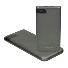 Prenosna baterija (powerbank) Nitro, 10.000 mAh, temno siva