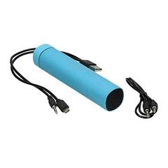 Prenosna baterija (powerbank) Roll z zvočnikom, 4.000 mAh, modra