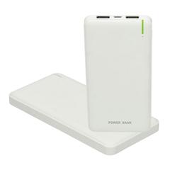 Prenosna baterija (powerbank) Ultra Slim, 10.000 mAh, bela