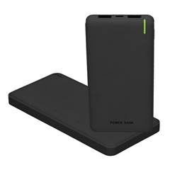 Prenosna baterija (powerbank) Ultra Slim, 10.000 mAh, črna