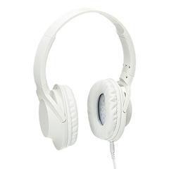 Naglavne slušalke Bass Lux, bele