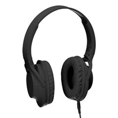 Naglavne slušalke Bass Lux, črne