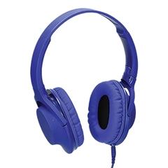 Naglavne slušalke Bass Lux, modre