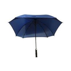 Golf dežnik Lira, s penastim ročajem, moder