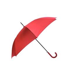 Dežnik Apolo, z gumijastim ročajem, rdeč