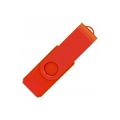 USB ključ Twister Mat, 16 GB, rdeč