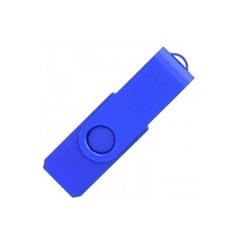 USB ključ Twister Mat, 4 GB, moder
