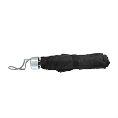 Zložljiv dežnik Janus, črn