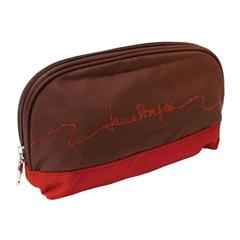 Zložljiv dežnik Laura, v torbici, bordo rdeč