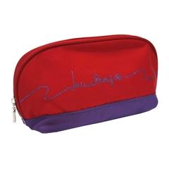 Zložljiv dežnik Laura, v torbici, rdeč