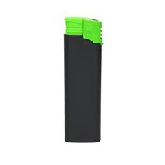 Vžigalnik Atomic F2, z gumiranim oprijemom, zelen