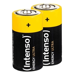Baterija Intenso D (LR20), 12.000 mAh, 2 kosa