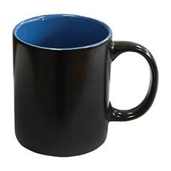 Skodelica Black, keramična, črno modra