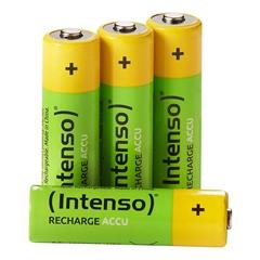 Baterija Intenso Polnilna AAA-HR03, 850 mAh, 4 kosi