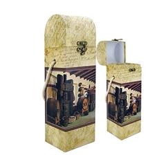 Kartonska škatla za steklenico Barrel
