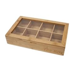 Lesena škatla za čaj