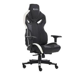 Gaming stol Sandberg Voodoo, belo-črn