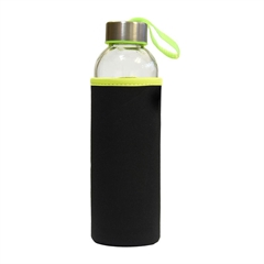 Steklenica Stream, 500 ml, črno zelena