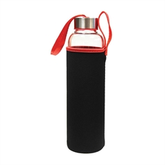 Steklenica Wave, 600 ml, rdeča (85157R)