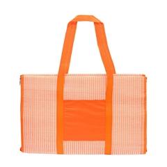 Podloga za plažo iz poliestra, oranžna