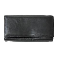 Moška denarnica 78644, usnjena, črna