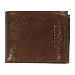 Moška denarnica 78602, usnjena, rjava