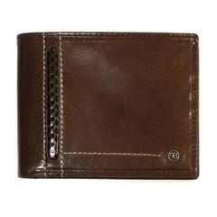 Moška denarnica 78608, usnjena, rjava