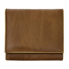 Moška denarnica Galko 78621, usnjena, rjava