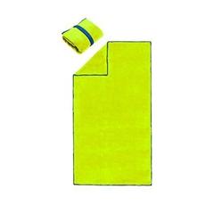 Brisača Active BIG, 70 x 140 cm, rumena