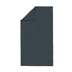 Brisača Active SOLID 100 x 180 cm, črna