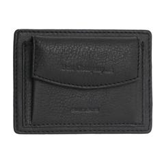 Moška usnjena denarnica 78526, črna