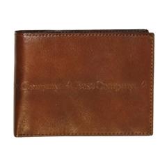 Moška usnjena denarnica 78533, rjava