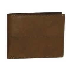 Moška usnjena denarnica 78537, rjava