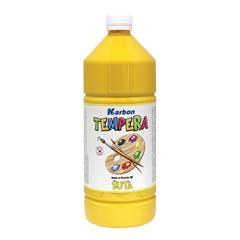 Tempera barva Karbon, rumena, 1 L