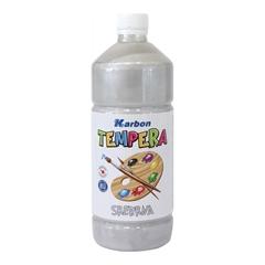 Tempera barva Karbon, srebrna, 1 L