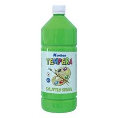 Tempera barva Karbon, svetlo zelena, 1 L