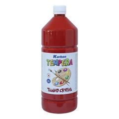 Tempera barva Karbon, temno rdeča, 1 L