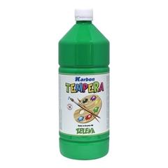Tempera barva Karbon, zelena, 1 L